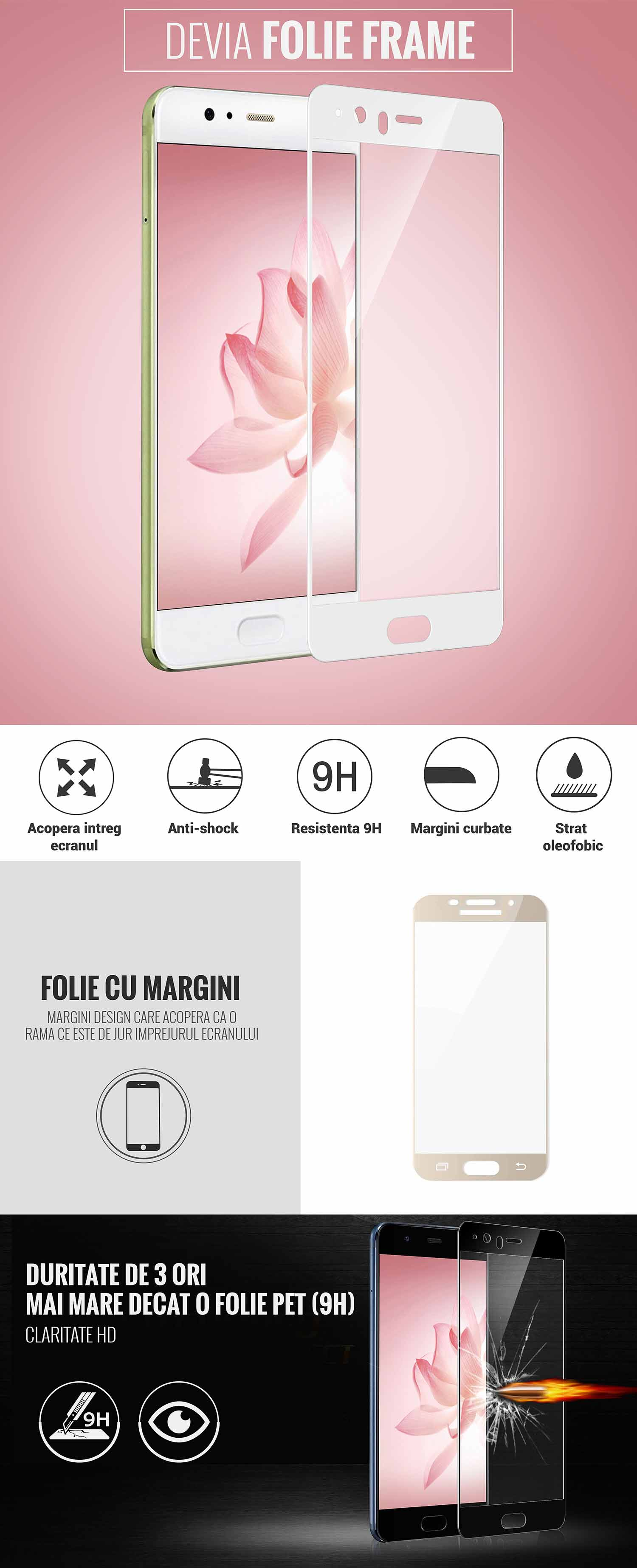 Folie Huawei P10 Plus