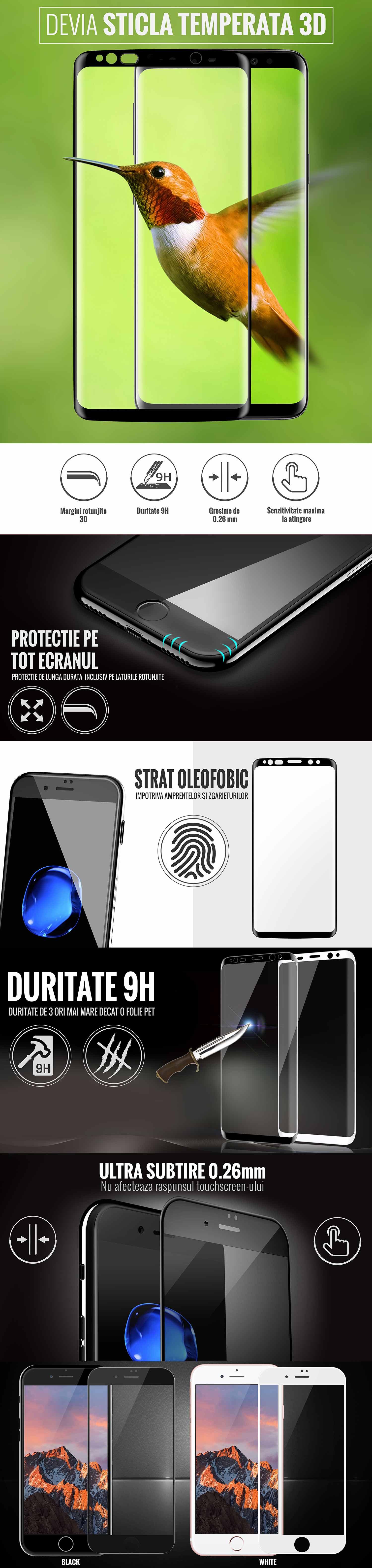 Folie Samsung Galaxy S8 Plus