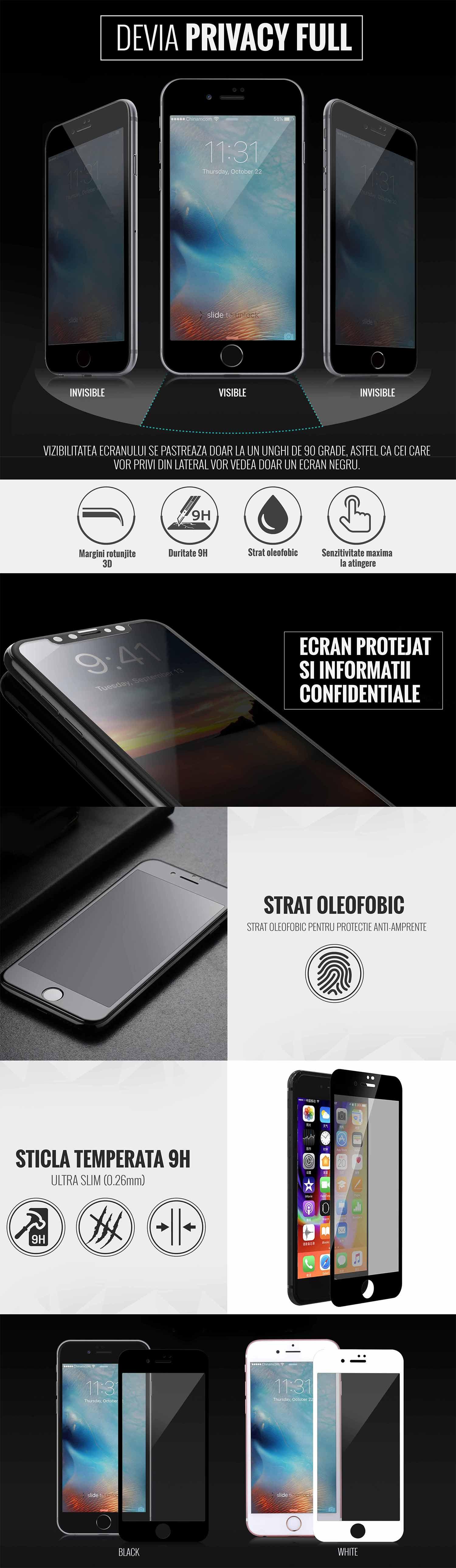 Folie iPhone 8 Plus/7 Plus
