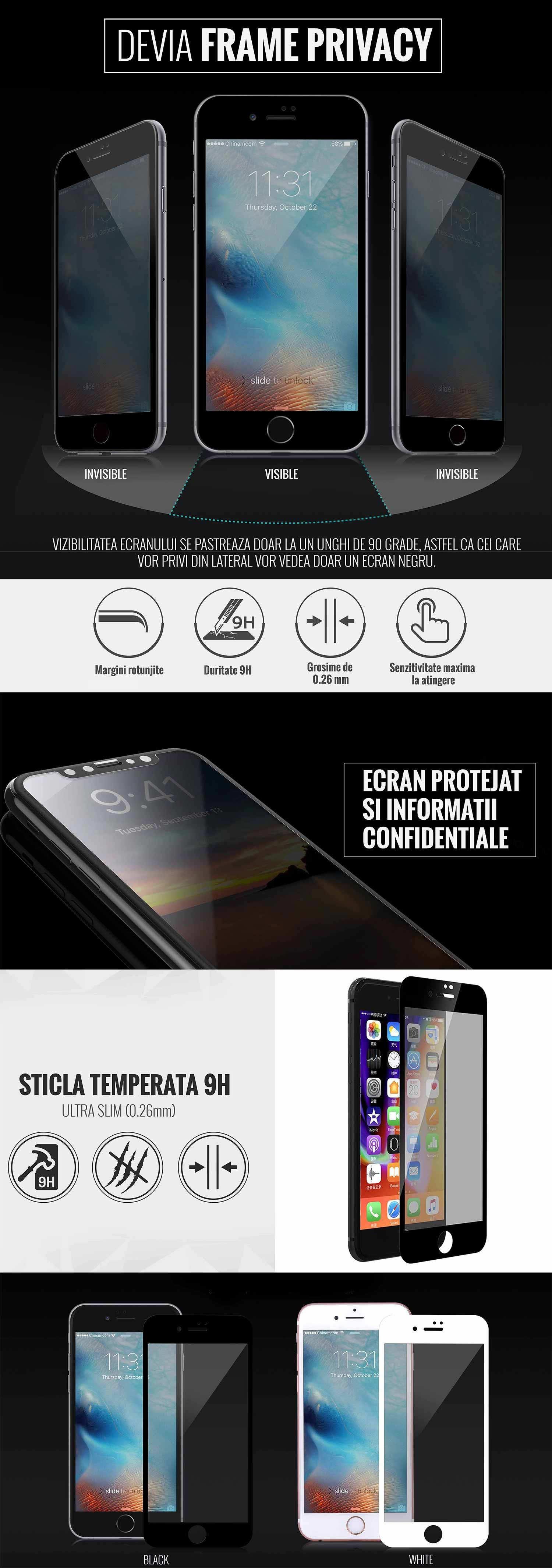 Folie iPhone 7 Plus